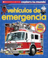 Un libro lleno de datos y atractivas fotografías de vehículos de emergencia en acción. Emergency Vehicles is full of facts and engaging pictures of rescue vehicles hard at work.