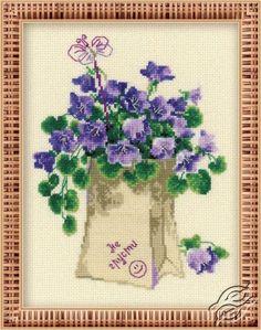 Don't Be Sad - Cross Stitch Kits by RIOLIS - 1199