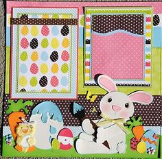 Gorgeous Easter Layout For Sale!