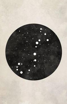 Scorpio Art Scorpio Constellation Astronomy by blackandthemoon