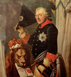 Picture of a painting of Frederick the Great by Johann Heinrich Franke, Frederick II blossomed when he took the throne, attracting the great thinkers of Europe to his court and establishing Prussia as a dominant military power. Frank Morrison, Friedrich Ii, Religious Tolerance, Age Of Enlightenment, Frederick The Great, Lgbt History, King Of Prussia, Warrior King, Seven Years' War