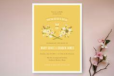 Harvest Moon Wedding Invitations by Jennifer Wick   Minted