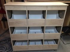 vinyl record storage drawers