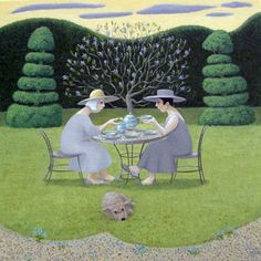 """Ladies In Lavender"" by Marcelle Milo-Gray"