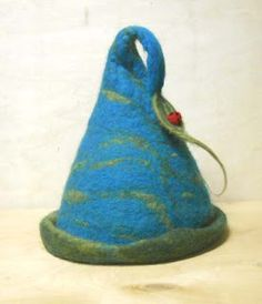 My first felted hat