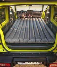 Sleeping in the Suzuki Jimny – Geordie Jimny Camper New Suzuki Jimny, Camper, Gym Equipment, Sports, Hs Sports, Caravan, Travel Trailers, Workout Equipment, Motorhome
