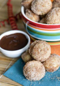 Homemade Churro Bites Recipes Baked mini churro bites