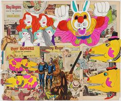 Keiichi Tanaami- born in 1936 in Tokyo, is one of the leading pop artists of postwar Japan, and has been active as multi-genre artist since the 1960s as a graphic designer, illustrator, video artist and fine artist
