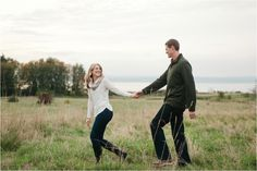 Pacific Northwest Engagement Session at Discovery Park » Meredith McKee Photography: Seattle Wedding Photographer