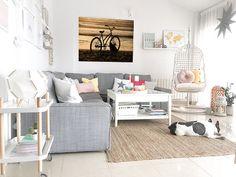 Cuadros personalizados impresos directamente sobre diferentes materiales (lienzo, madera, metacrilato, foam, PVC, aluminio) y con una alta calidad de impresión Boho Deco, Loft Room, Nordic Style, Throw Pillows, Interior Design, Storage, Bed, House, Furniture