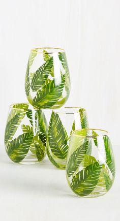 palm glasses …
