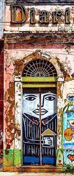 Door in Recife, Brazil
