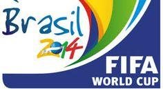 World Cup Brazil 2014 Logo FIFA panoramic