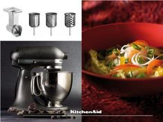 In the mood for something exotic why not try a chicken and seafood laksa, made with your Rotor vegetable slicer and shredder attachment for your Stand Mixer with optional drums. This recipe can be found in the KitchenAid Artisan Stand Mixer Cookbook. Receive your complimentary copy upon registering the warranty of your Artisan Stand Mixer. Much love from KitchenAid Africa xx.