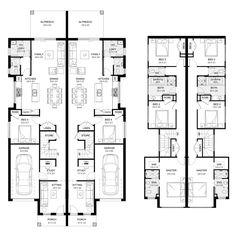 Attractive Castlereagh 46   Duplex Level   Floorplan By Kurmond Homes   New Home  Builders Sydney NSW