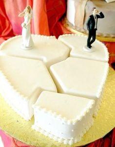 divorce cake #party