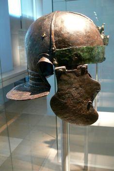 Roman Helmet, Ancient Rome, Roman Empire, Riding Helmets, History, Italia, Romans, Soldiers, Civilization