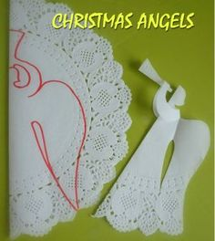 Christmas angels with their hands Christmas Angel Ornaments, Christmas Paper, Kids Christmas, Christmas Decorations, Christmas Templates, Christmas Printables, Angel Crafts, Holiday Crafts, Christmas Activities