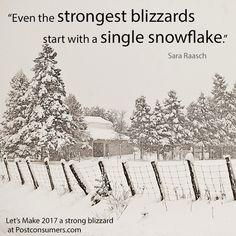 Favorite Winter Quotes: Single Snowflake