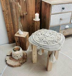 Handgefertigter Hocker aus Holz Stool, Table, Furniture, Home Decor, Handmade, Wood, Decoration Home, Room Decor, Stools