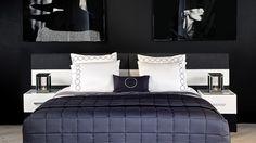 lean back bed jan des bouvrie - Bedroom design by Jan des Bouvrie | A total concept for the bedroom. #bedroom #bed #slaapkamer #design #interior
