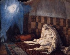 Annunciation, illustration for 'The Life of Christ' - James Tissot