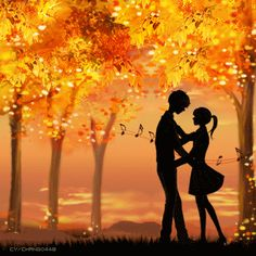 Love and music . Some Beautiful Pictures, Love Images, Wonderful Images, Cute Couple Cartoon, Cute Couple Art, Fantasy Love, Fantasy Art, Lovely Girl Image, Love Doodles