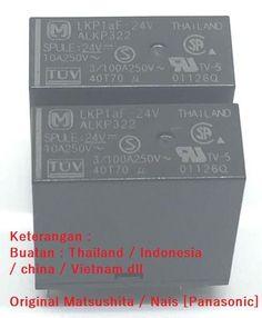 Beli ALKP322 Nais/Matsushita 10A Relay [ coil 24V ] dari Mbish Bangun Indonesia mbish_elektronik - Tangerang hanya di Bukalapak