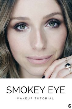 Quick + easy smokey eye tutorial to take your makeup from day to night