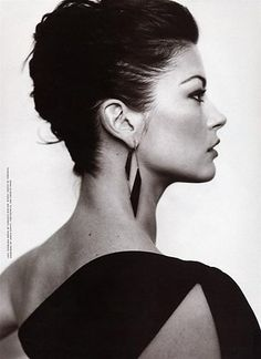 There are profiles, then there is THIS profile! Catherine Zeta-Jones.