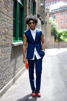 UK Street-Style MEN | My Style Ramblings.: London Collections: Men Street Style