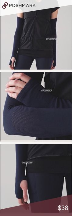 Lululemon Arm Warmers MDNI/NWT M/L BEST TO BUNDLE FOR BETTER PRICING! Lululemon High Speed Run Arm Warmers MDNI/NWT M/L lululemon athletica Accessories