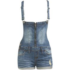 7b7ae834778 Zip Front Romper ( 5) ❤ liked on Polyvore featuring jumpsuits