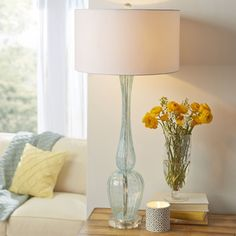 Birch Lane Marino Glass Table Lamp | Birch Lane