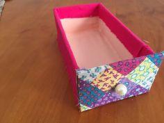 DIY - Organizador porta-trecos #parte 1 (gavetas) ✂️ Artesanato VEDA#9 - YouTube