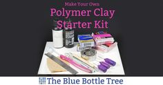 What should go into your polymer clay starter kit? What is truly needed to get started? Read my list of must-have beginner tools and supplies.