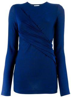 $138 T by Alexander Wang http://roanshop.com/womens-clothing/t-by-alexander-wang-twisted-top.html