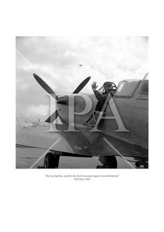 The last Spitfire use dby the Irish Aircorps departs from Baldonnel. May 1961 See more photos like this at www. Fine Art Photo, Photo Art, History Photos, Photo Archive, More Photos, Dublin, Ireland, Irish, Fine Art Prints