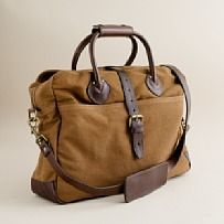 Canvas and Leather Work Bag***Research for possible future project.