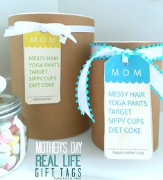 messy hair mom gift
