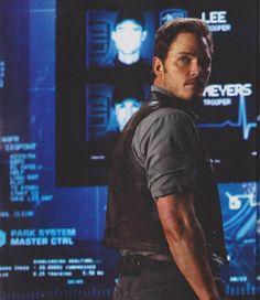 Jurassic World: Chris Pratt y los Velociraptor a escena