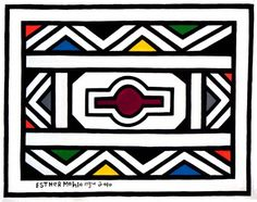 Africa Tribes, Africa Art, Africa Symbol, African Logo, Tribal Patterns, African Patterns, Photo Mosaic, Geometric Art, Art Logo