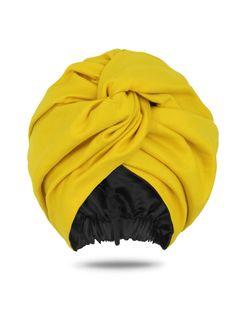 Head Wraps, Satin-Lined Turban, & Head Covers Turban Headband Tutorial, Turban Headbands, Turbans, Mode Turban, Head Turban, Hair Bonnet, Cotton Long Dress, African Head Wraps, Satin Color