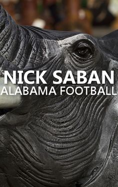 60 Minutes explored the methods of star college football coach Nick Saban, who has found a home with the Alabama Crimson Tide for the past seven years.