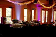 Uplighting in Conference Center #WeddingVenue #Wedding #LoughridgeWeddings