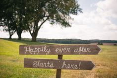 Happily Ever After Starts Here ! I Orangerie Events I #signage