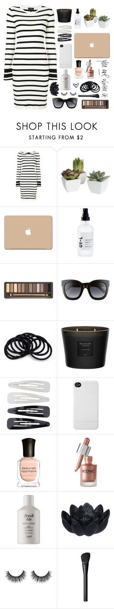 """""""my favorite dress.. I really love it"""" by head-in-the-clouds-cbc ❤ liked on Polyvore featuring Theory, Pier 1 Imports, 3M, OY-L, Urban Decay, Gucci, Baobab Collection, Forever 21, Incase and Deborah Lippmann"""