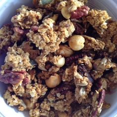 Homemade super nutty granola Handbags and Cupcakes: Honestly Healthy Alkaline Eating: Two weeks in...