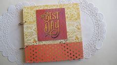 Your place to buy and sell all things handmade Love Scrapbook, Mini Scrapbook Albums, Mini Albums, Photo Guest Book, Guest Books, Polaroid Photos, Wedding Guest Book, All Things, Bridal Shower