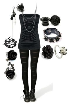 """""""Untitled #531"""" by botdfbvbrevenge ❤ liked on Polyvore featuring Wet Seal, MOOD, John Rocha, Goti, Ann Demeulemeester and Disney Couture"""